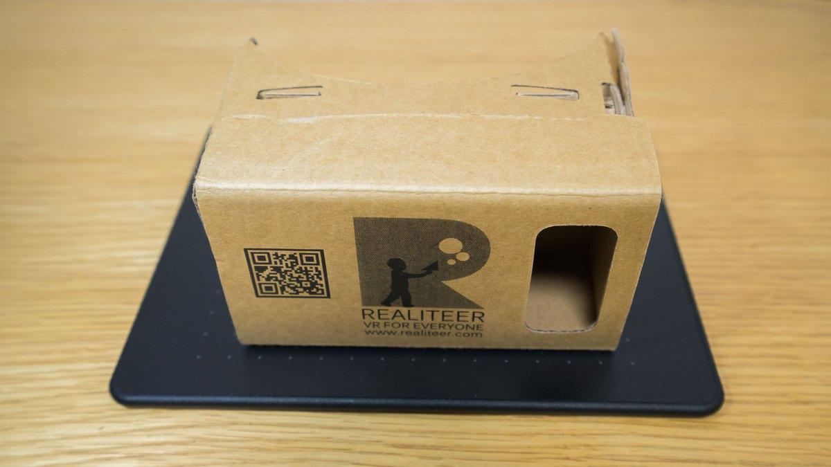 Realiteer's Cardboard (RC)